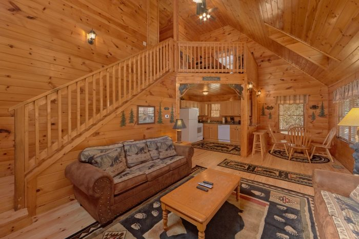 Cabin with Open Floor Plan - A Beary Special Place