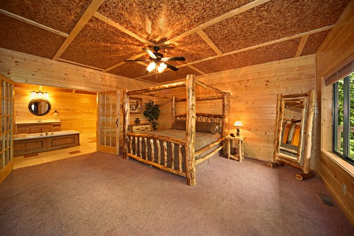 Cabin with Master Suite - A Friendly Forest