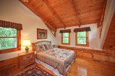 Queen bedroom in Cabin