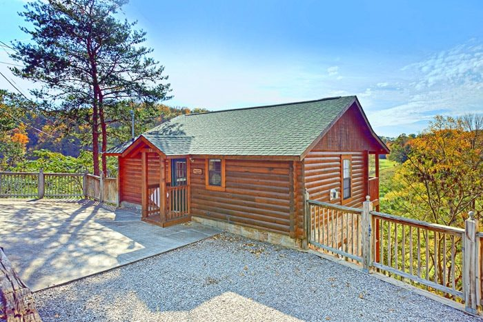 A Hilltop Heaven Cabin Rental Photo