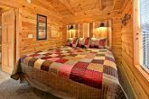 Cabin with custom bed design