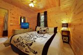 King Sized Bedroom in Cabin
