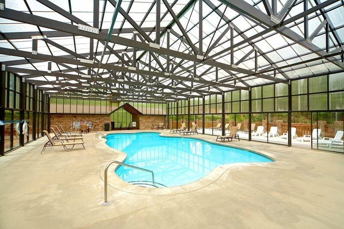 Luxury Cabin in Hidden Springs Resort with Pool - A New Beginning