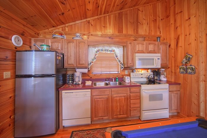 Smoky Mountain Cabin with Furnished Kitchen - A New Beginning