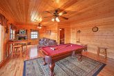 Cabin in the Smokies with Billiard Room
