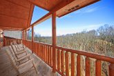 Cabin with Deck to Take in Beauty of the Smokies