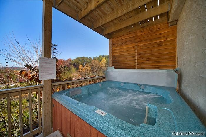 1 Bedroom Cabin with Hot Tub - A Romantic Journey