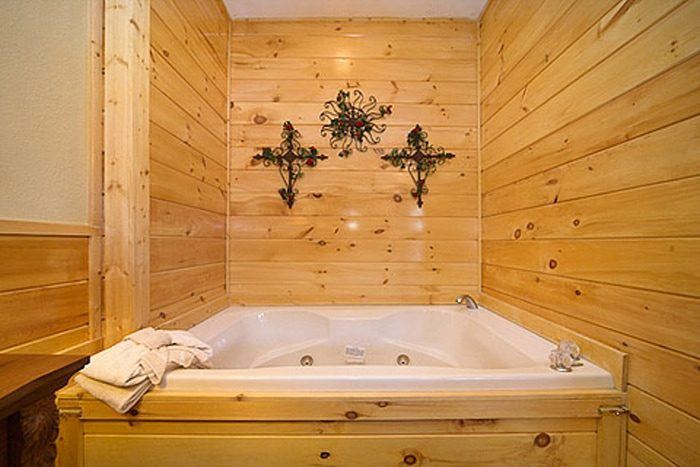 1 Bedroom Cabin that Features in Indoor Jacuzzi - A Romantic Journey