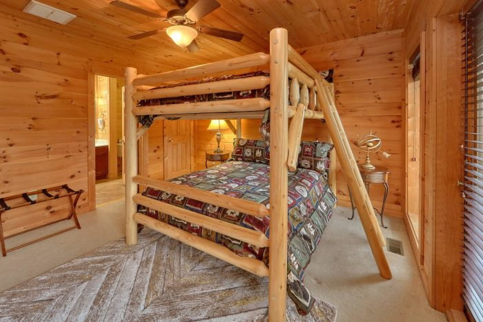 Gatlinburg 5 Bedroom Cabin with a Jacuzzi Tub - A View From Above