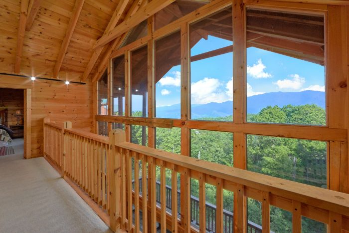 5 Bedroom Cabin Overlooking Ober Gatlinburg Tram - A View From Above