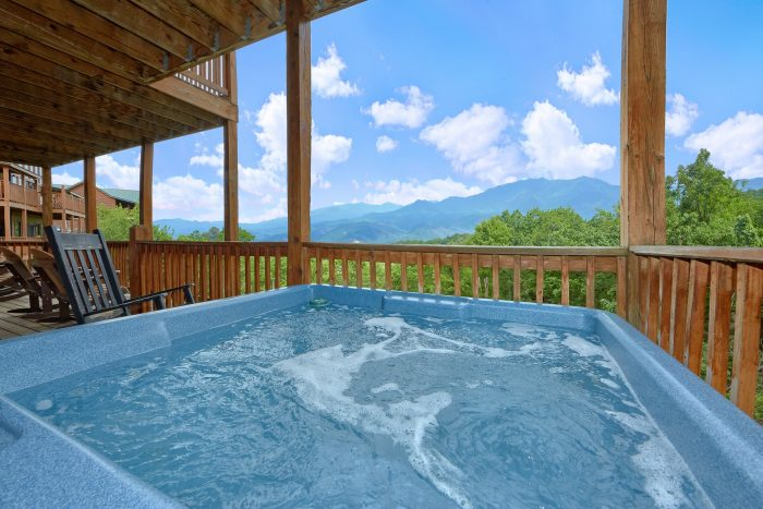 Spectacular Mountain View in Gatlinburg Cabin - A View From Above