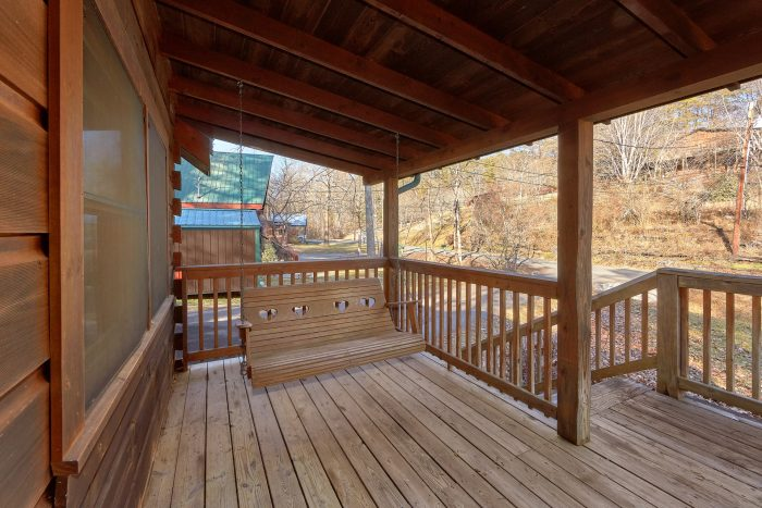 Cabin near Pigeon Forge with Porch Swing - Absolute Heaven