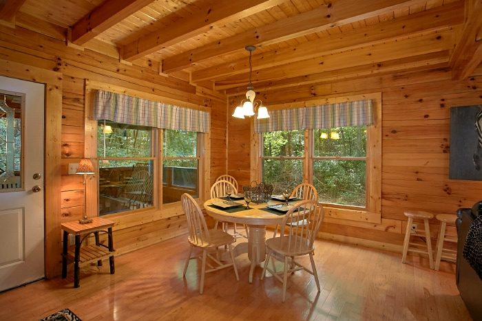 Pigeon Forge Cabin with Dining Area and Kitchen - All Tucked Inn