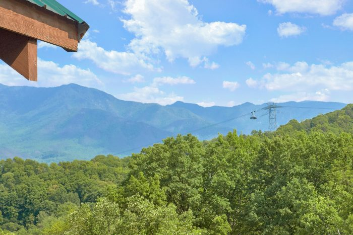 5 Bedroom Cabin with View of Gatlinburg Tram - Amazing Views to Remember