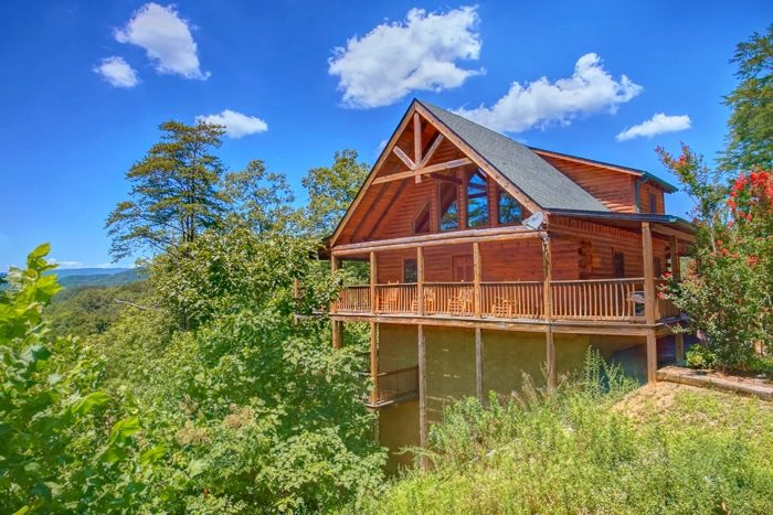 Luxury Cabin with 2 Bedrooms and Wooded View - American Pie 2