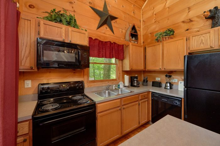 Cabin with Great Kitchen Appliances - Bar None
