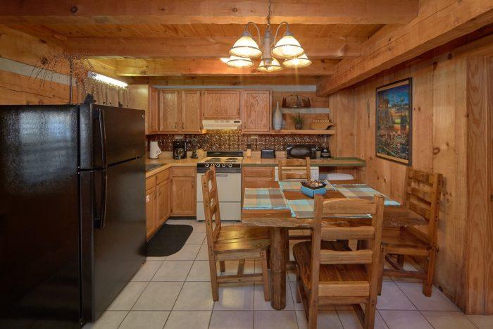 1 Bedroom Cabin Sleeps 4 Full Kitchen - Bare Kissin And Huggin