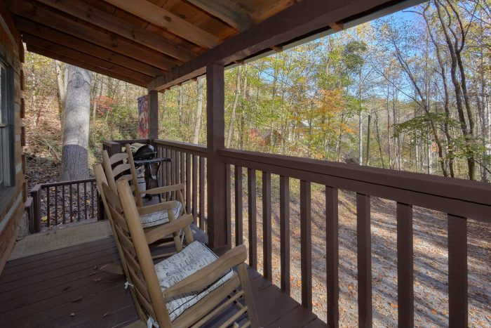 1 Bedroom Cabin Sleeps 4 with Rocking Chairs - Bare Tubbin