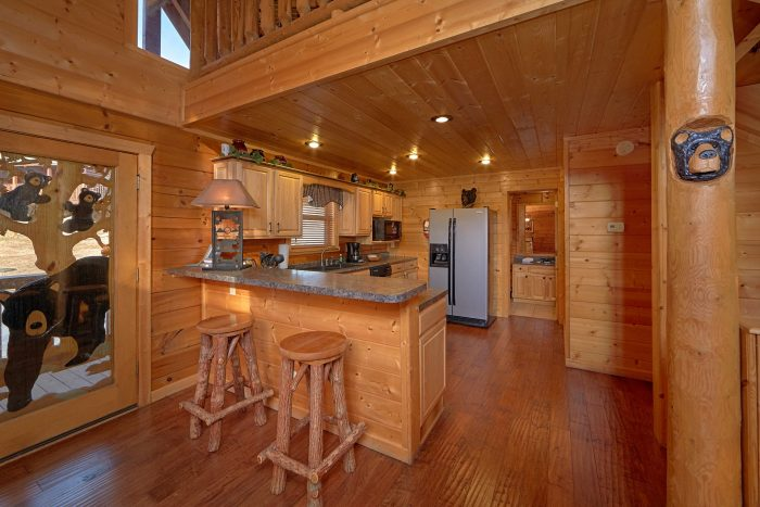 Smoky Mountain Cabin with an Eat-In Kitchen - Bear Creek Lodge