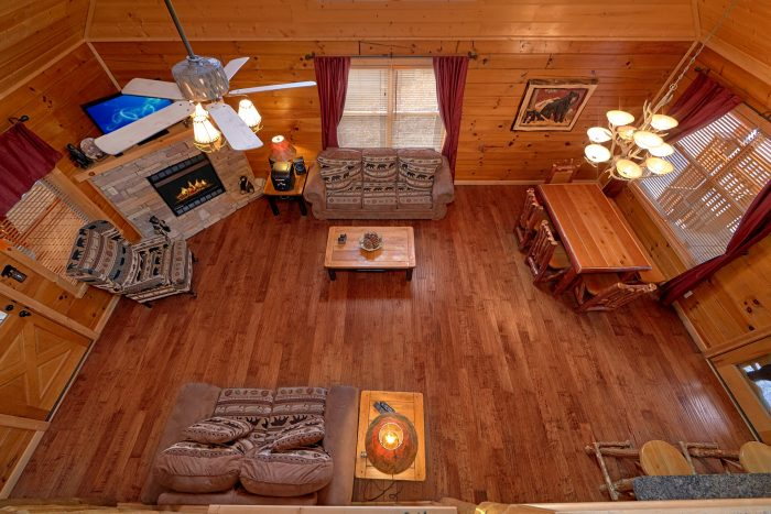 Pigeon Forge Cabin with a Loft - Bear Creek Lodge