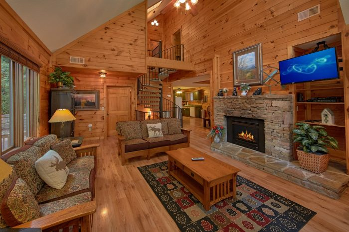 Bear Crossing Cabin Rental Photo