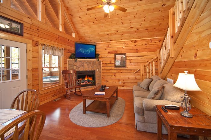 Luxuriously Furnished Pigeon Forge Cabin Rental - Cherished Memories