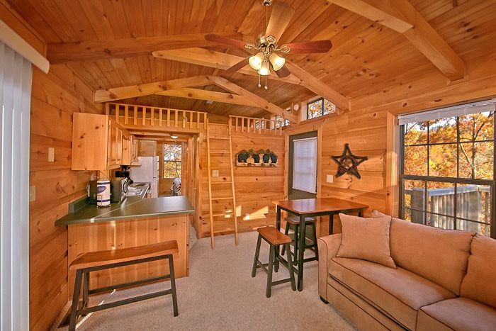 Cabin with Kitchen and Dining Area - Cloud 9