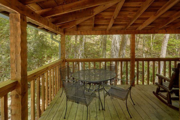 Wears Valley Cabin on a creek - Cuddle Creek Cabin