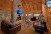 4 Bedroom Cabin with Stone Fireplace
