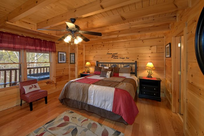 4 Bedroom Cabin with 2 King Beds and Baths - Dreamland