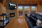 Luxury Cabin with WII Video Game and Fireplace
