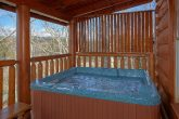 Premium 4 Bedroom Cabin with 2 Hot Tubs