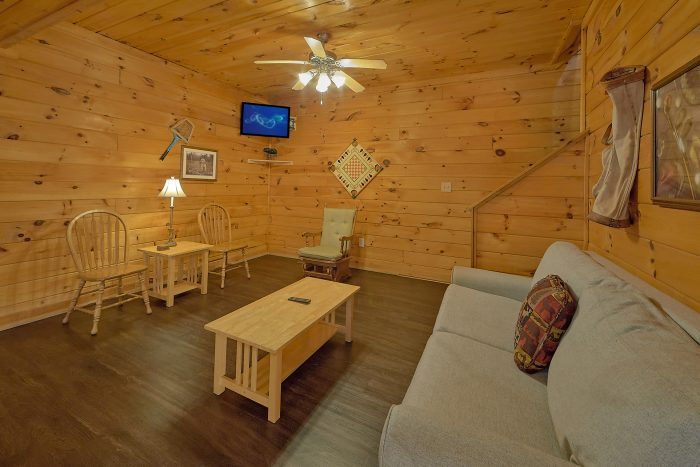 Smoky Mountain Cabin for 12 with a Game Room - Fishin Hole