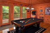 3 Bedroom Cabin With Pool Table and Game Room