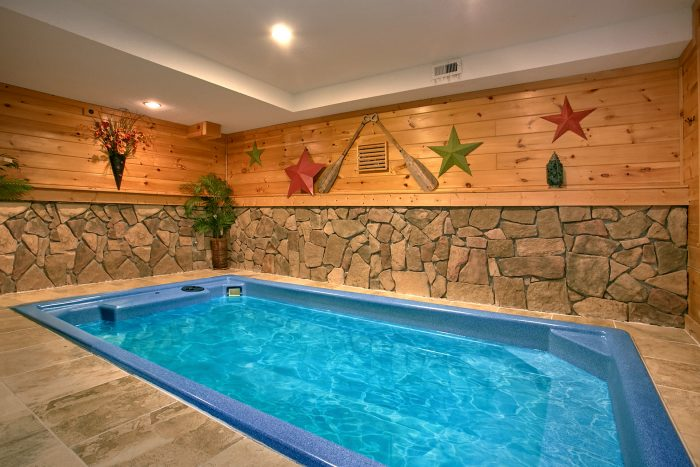 Bon ... Cabin With Private, Indoor Heated Pool   Gatlinburg Splash ...