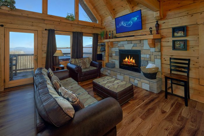 3 Bedroom Cabin with Spectacular Views - Gatlinburg Splash