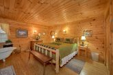 Affordable 1 Bedroom Cabin with King Bed