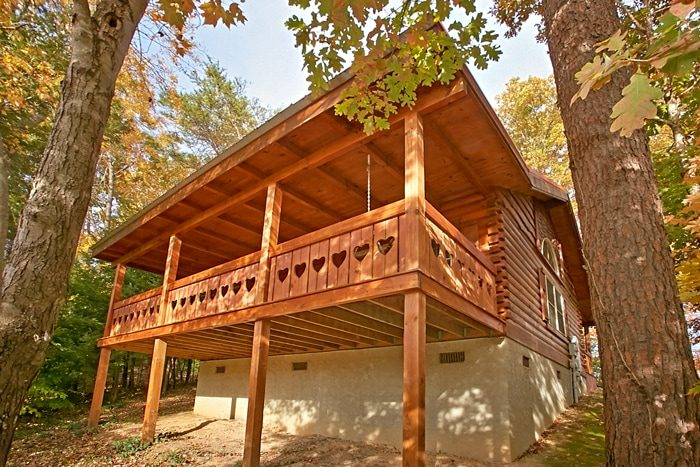 1 Bedroom Honey Moon Cabin in the Smokies - Heart to Heart