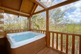 Large Outdoor Hot Tub with a View