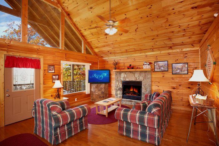 Honey Moon 1 Bedroom Cabin Fully Furnished - Hideaway Heart