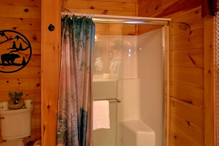 1 Bedroom Cabin with Shower and Jacuzzi Tub - I Don't Want 2 Leave