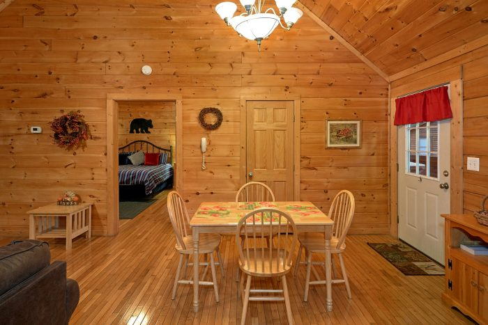1 Bedroom Cabin with a Dining Room Table - It's About Time