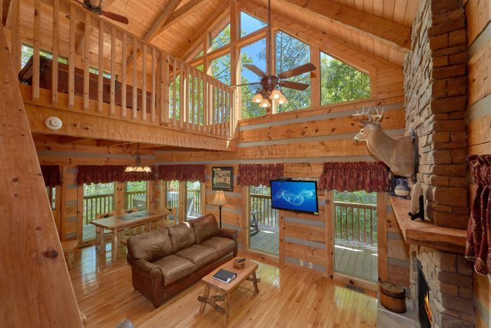 1 Bedroom cabin with a fully-stocked kitchen - Kicked Back Creekside