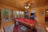 4 Bedroom Cabin with Pool Table and Game Room