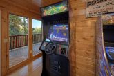 4 Bedroom Cabin with Race Car Arcade Game