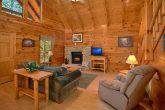 Honeymoon Cabin with Furnished Living Room