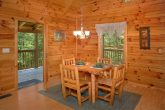 Honeymoon Cabin with Cozy Dining Area