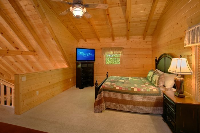 Luxury Cabin with King-size Bedrooms - Lucky Logs Lodge