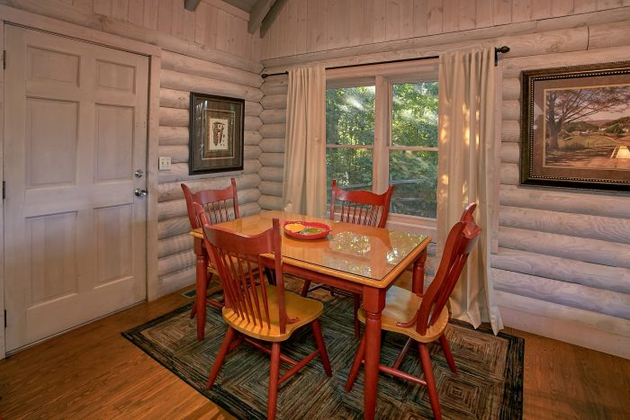 Rustic Cabin with a Dining Room for 4 guests - Melody Hill