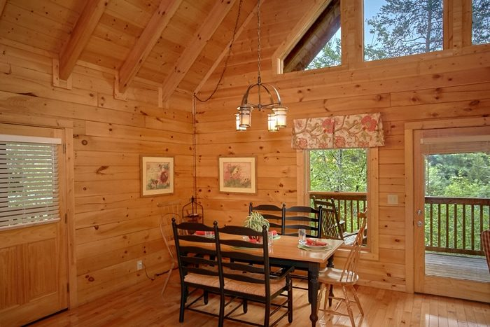 ... Star 1 Bedroom Cabin With Open Dining Room U0026 Kitchen   Mountain ...
